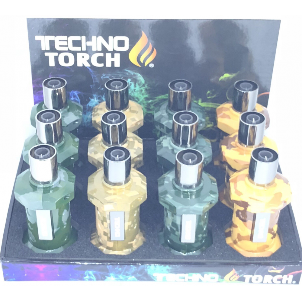 Techno Torch Lighter Single Flame